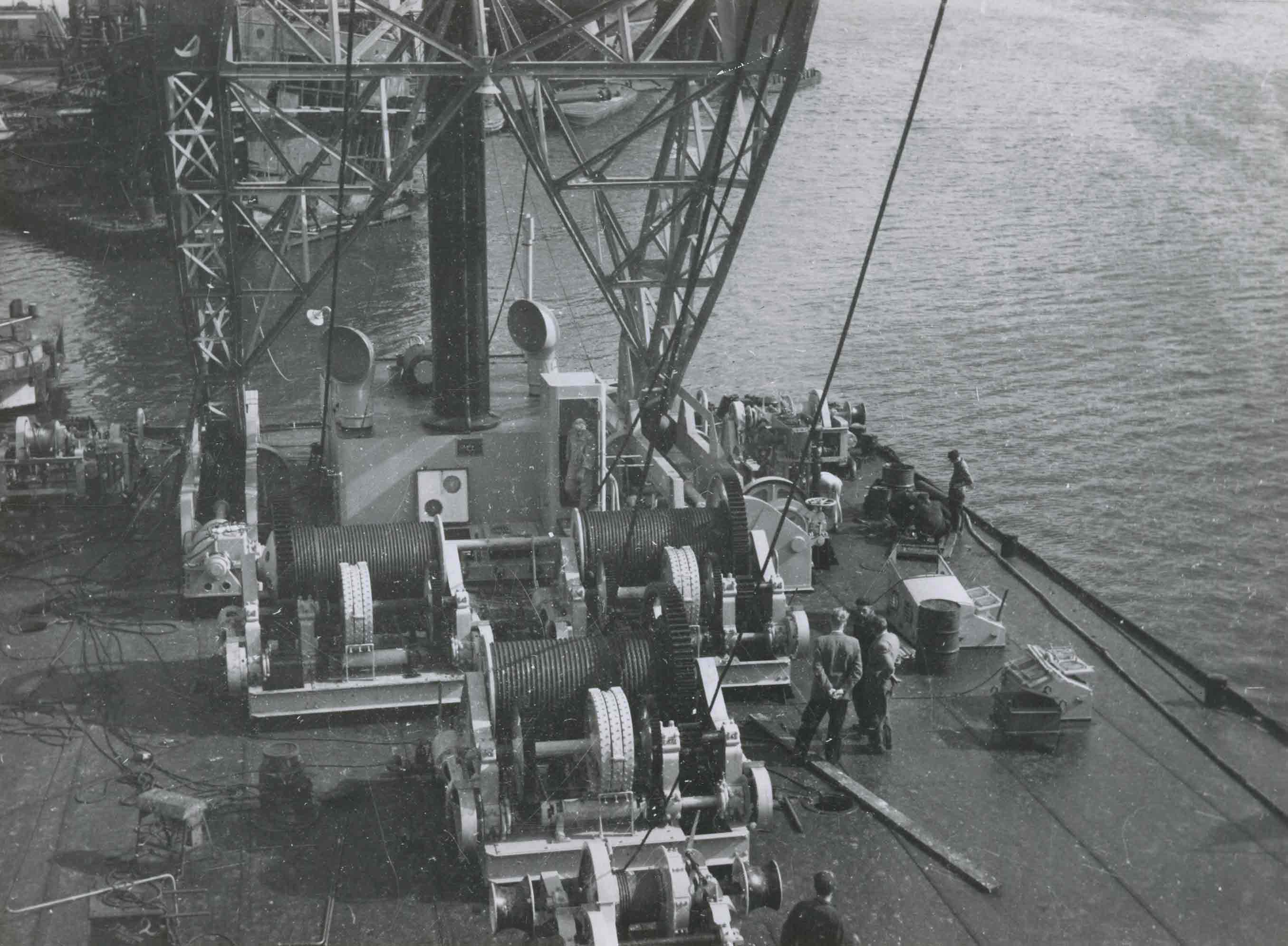 Bnr. 43: Drijvende Bok 250 ton (1953)