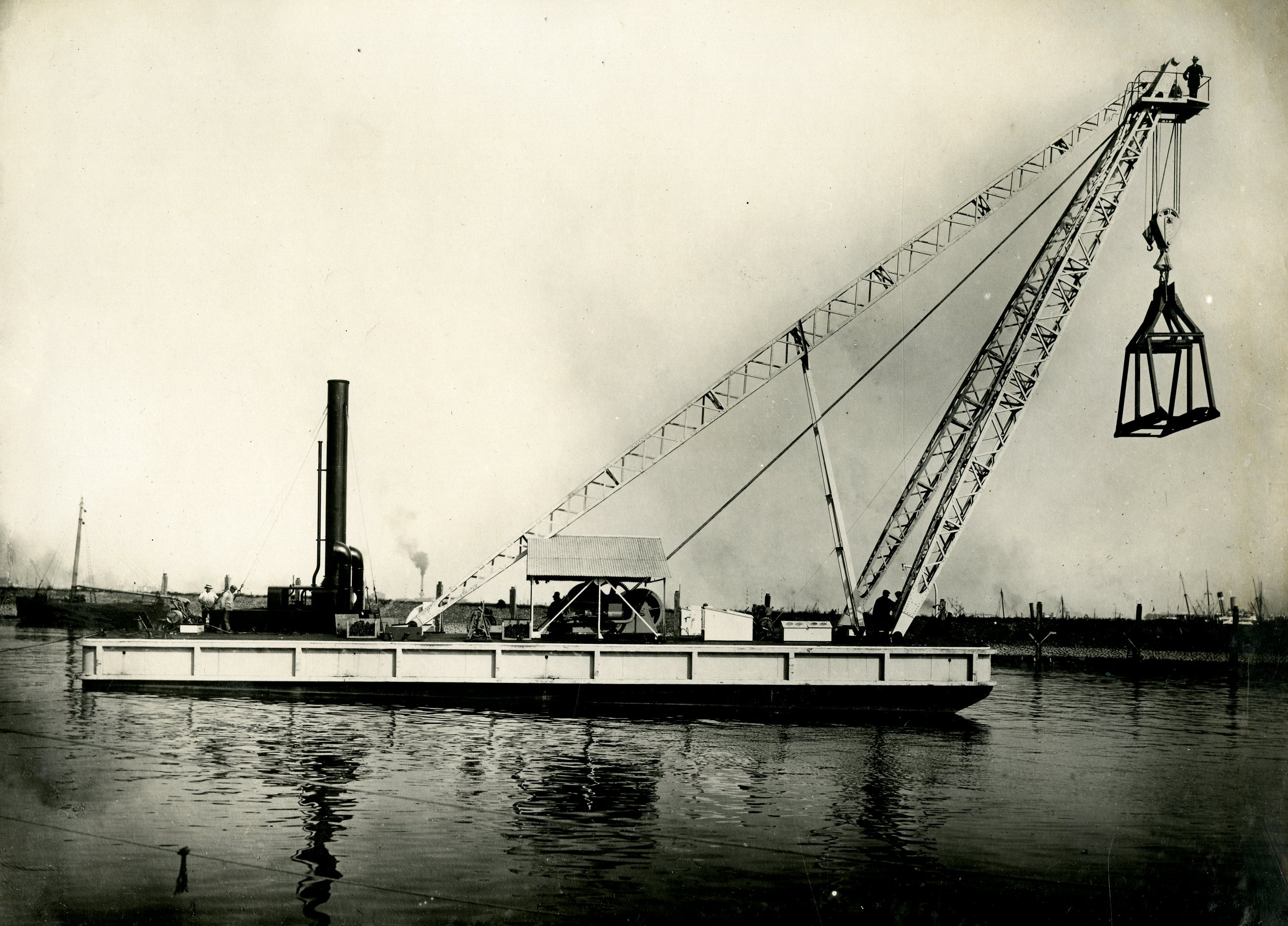 Bnr. 484 Drijvende Mastbok 60 ton