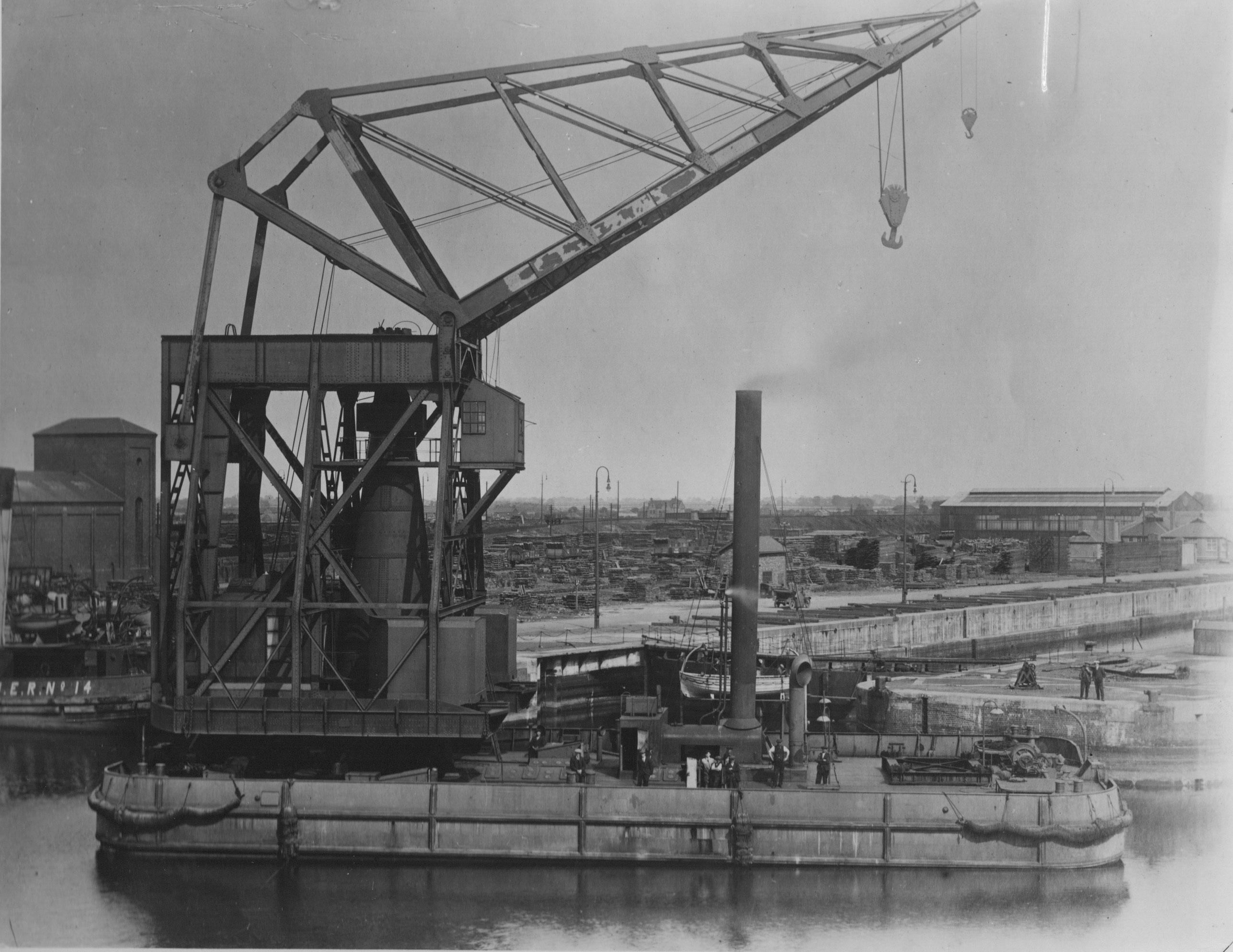 Bnr. 487: Drijvende Kraan (1919)
