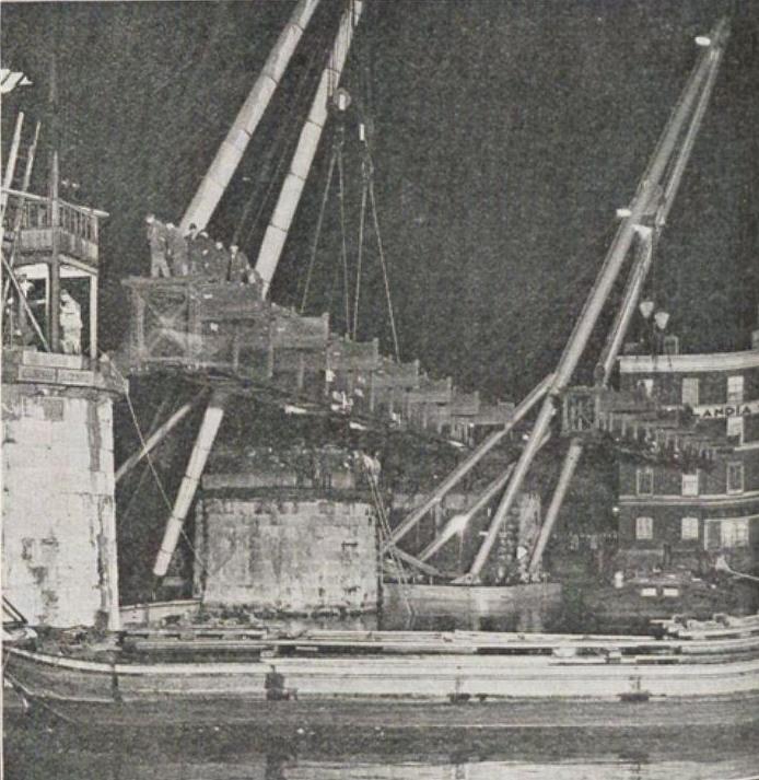 Bnr. 678: Spoorbruggen Beursstation (1933)
