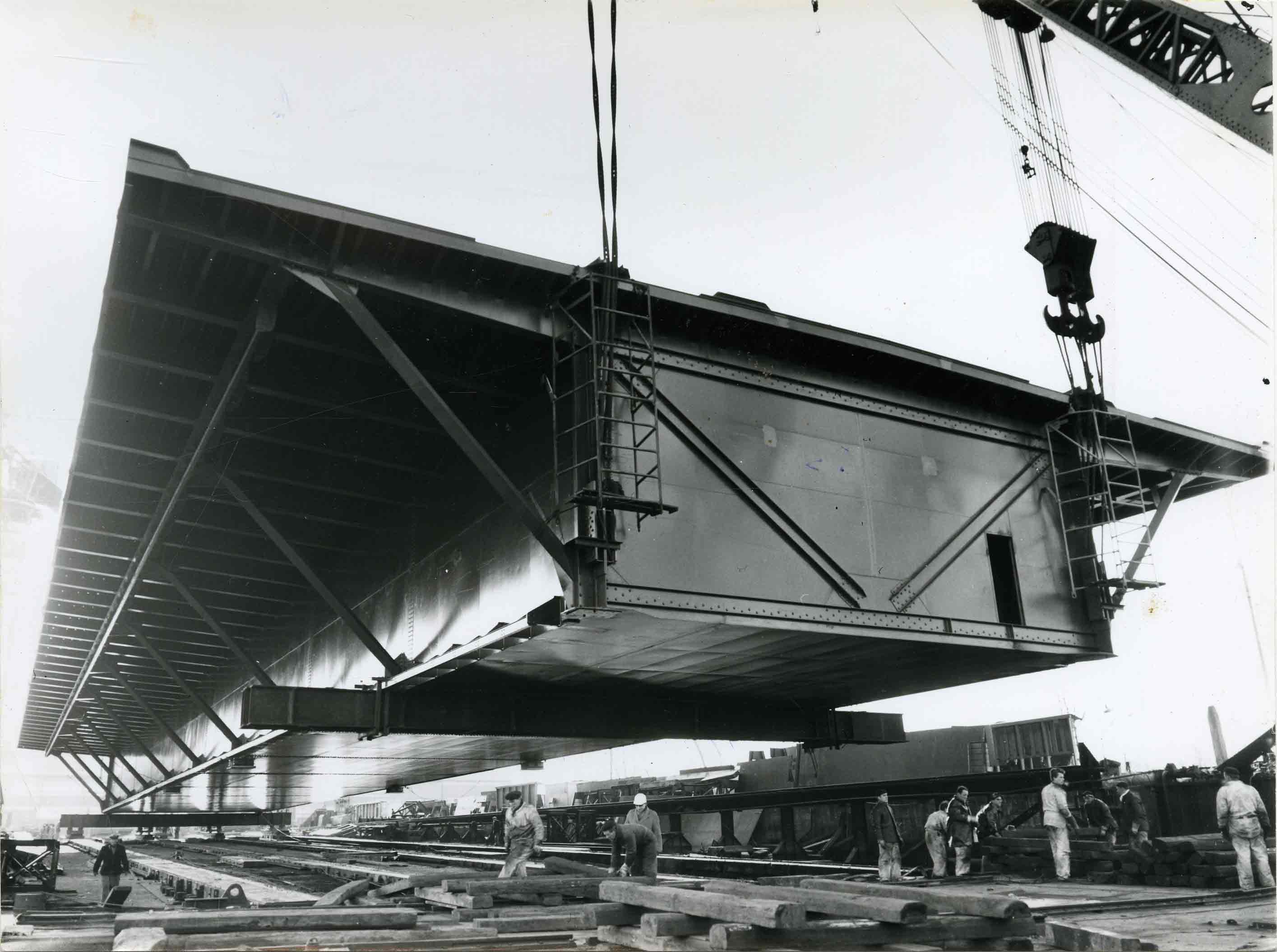 Bnr. 278: Bruggedeeltes Hollands Diep (1963)