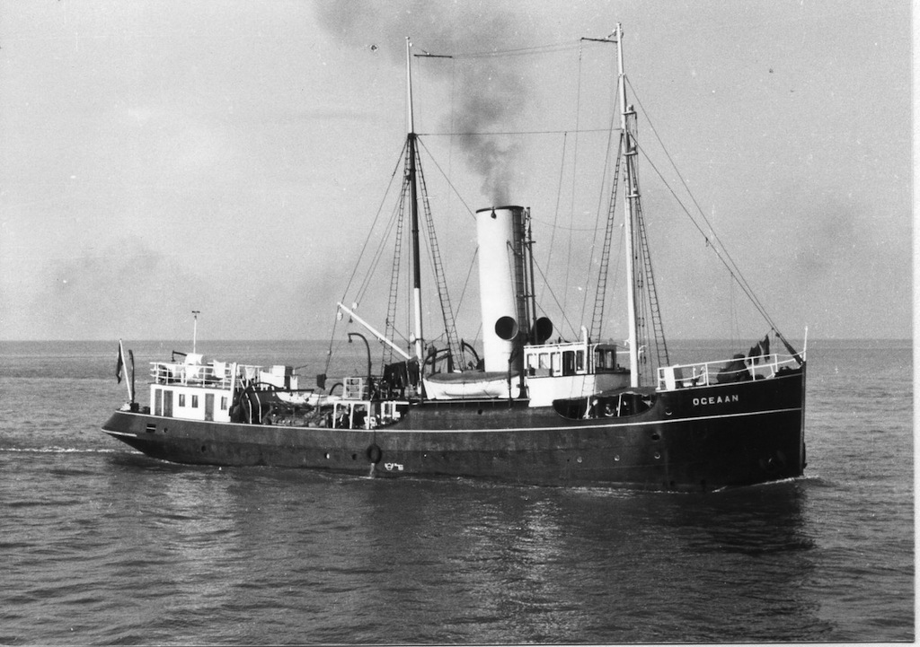 'Oceaan' loodsboot 14 KMar 1916 Bnr. 495