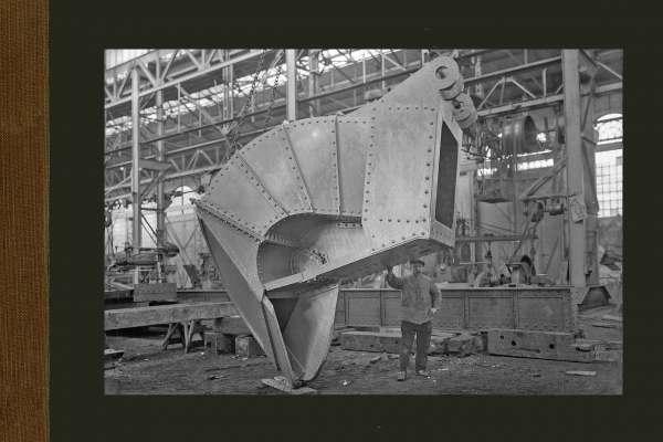 Geklonken zuigkop in de Machinebouwhal
