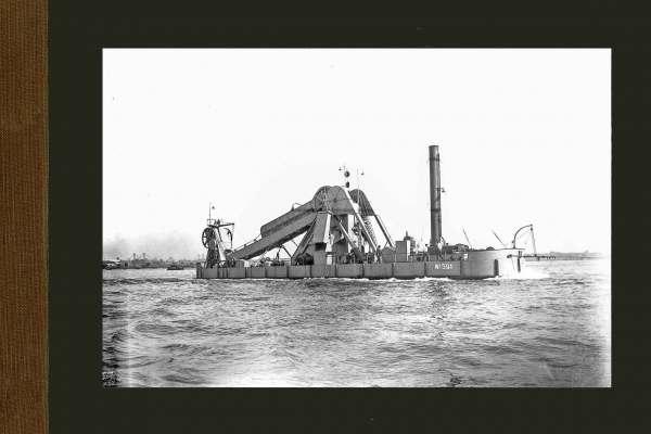 Bnr. 591 baggermolen 'Rouen' 1930