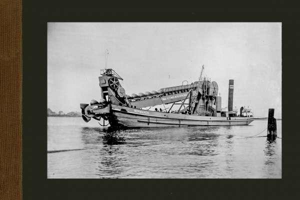 Bnr. 450 Zelfvarende baggermolen 'Normandie' 1913