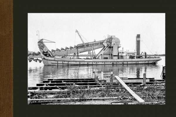 Bnr. 490 Zelfvarende baggermolen 'Gascogne' 1916