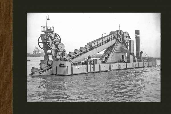Bnr. 575 Baggermolen 'Sebou' 1928
