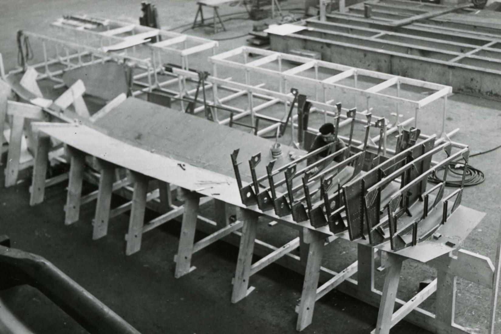 Draagvleugelboot POT 3 1961