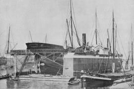 Bnr. 287 'Dok voor Luanda' (1903) - A.F. Smulders Slikkerveer
