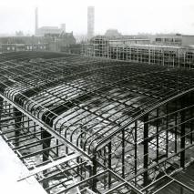 Opbouw Beurshal 1939 (exterieur)