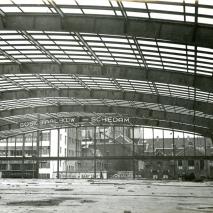 Interieur Beurshal tijdens opbouw 1939 (interieur)