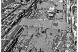 CO. 860 bouw gevorderd op 4 maart 1971