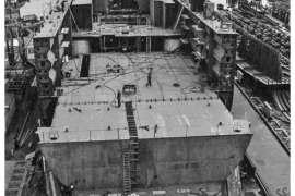 CO. 860 bouw gevorderd op 23 maart 1971