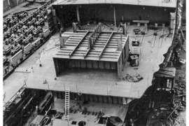 CO. 860 bouw gevorderd op 23 april 1971
