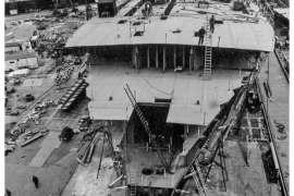 CO. 860 bouw gevorderd op 4 mei 1971