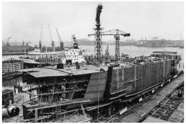 CO. 860 bouw gevorderd op 21 mei 1971
