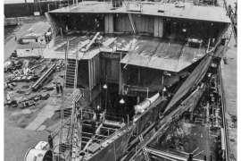 CO. 860 bouw gevorderd op 17 juni 1971