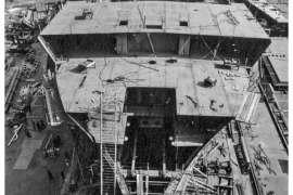 CO. 860 bouw gevorderd op 6 juli 1971