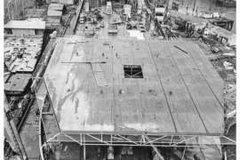 CO. 860 bouw gevorderd op 28 juli 1971
