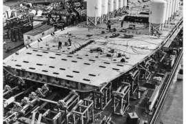 CO. 860 bouw gevorderd op 19 januari 1971