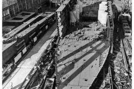 CO. 860 bouw gevorderd op 2 februari 1971