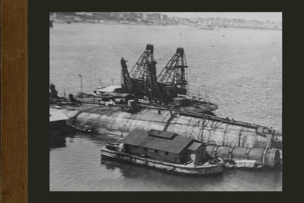 Bnr. 447 400 tons drijvende kraan voor Italië
