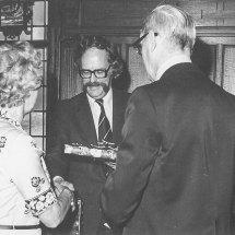 40- jarig jubileum F. van Haasteren bij Werf Gusto