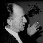 P.J. Mulders kort voor zijn overlijden in 1965