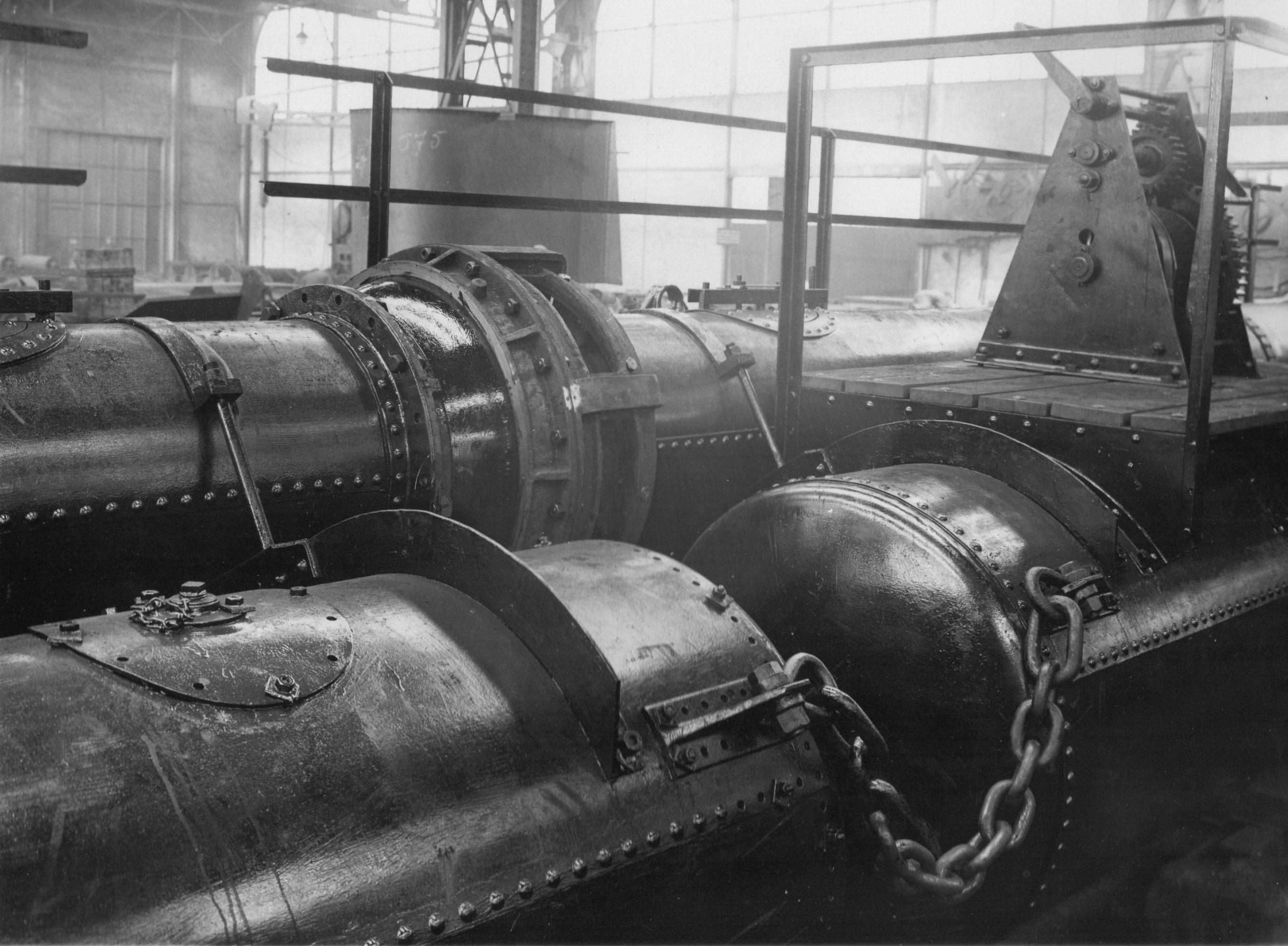 Bnr. 607: Drijvende Persleiding (1928)