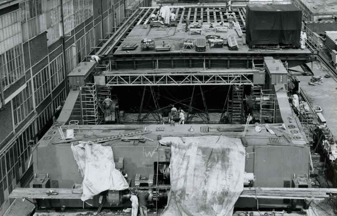 Bnr. 281: Basculebrug Haringvliet (1964)