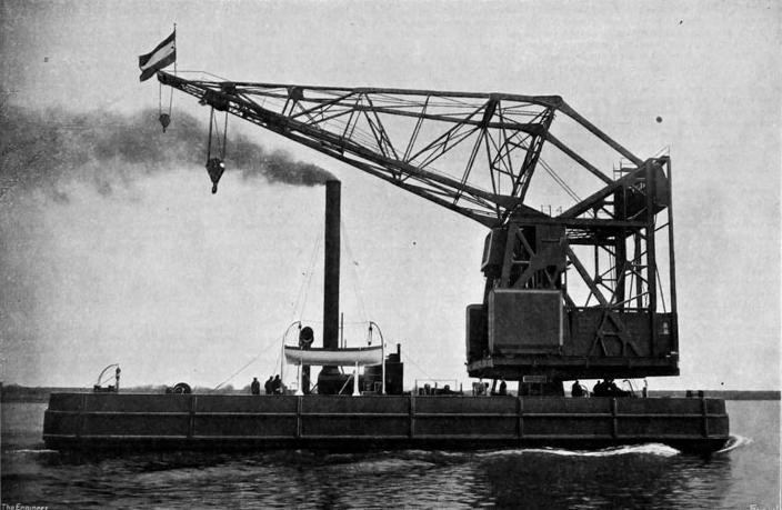 Bnr. 542: The 60 ton Crane (1921)