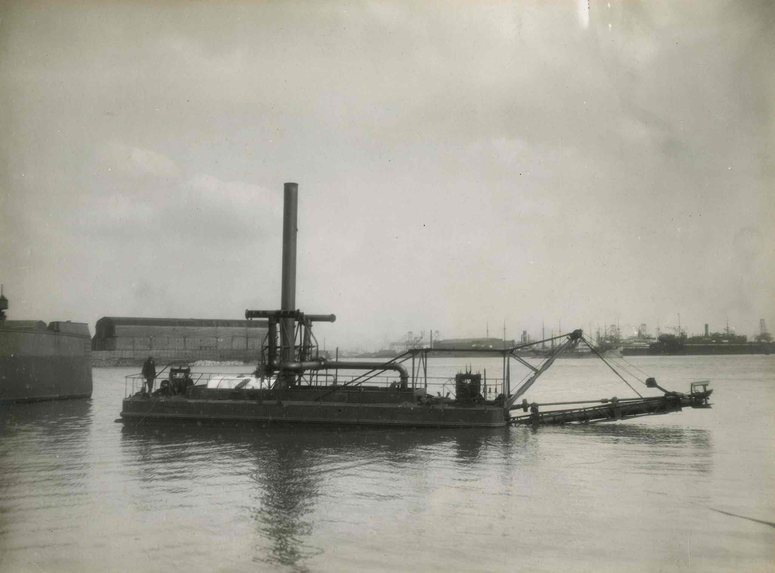 Bnr. 572: Stationaire Cutterzuiger (1924)