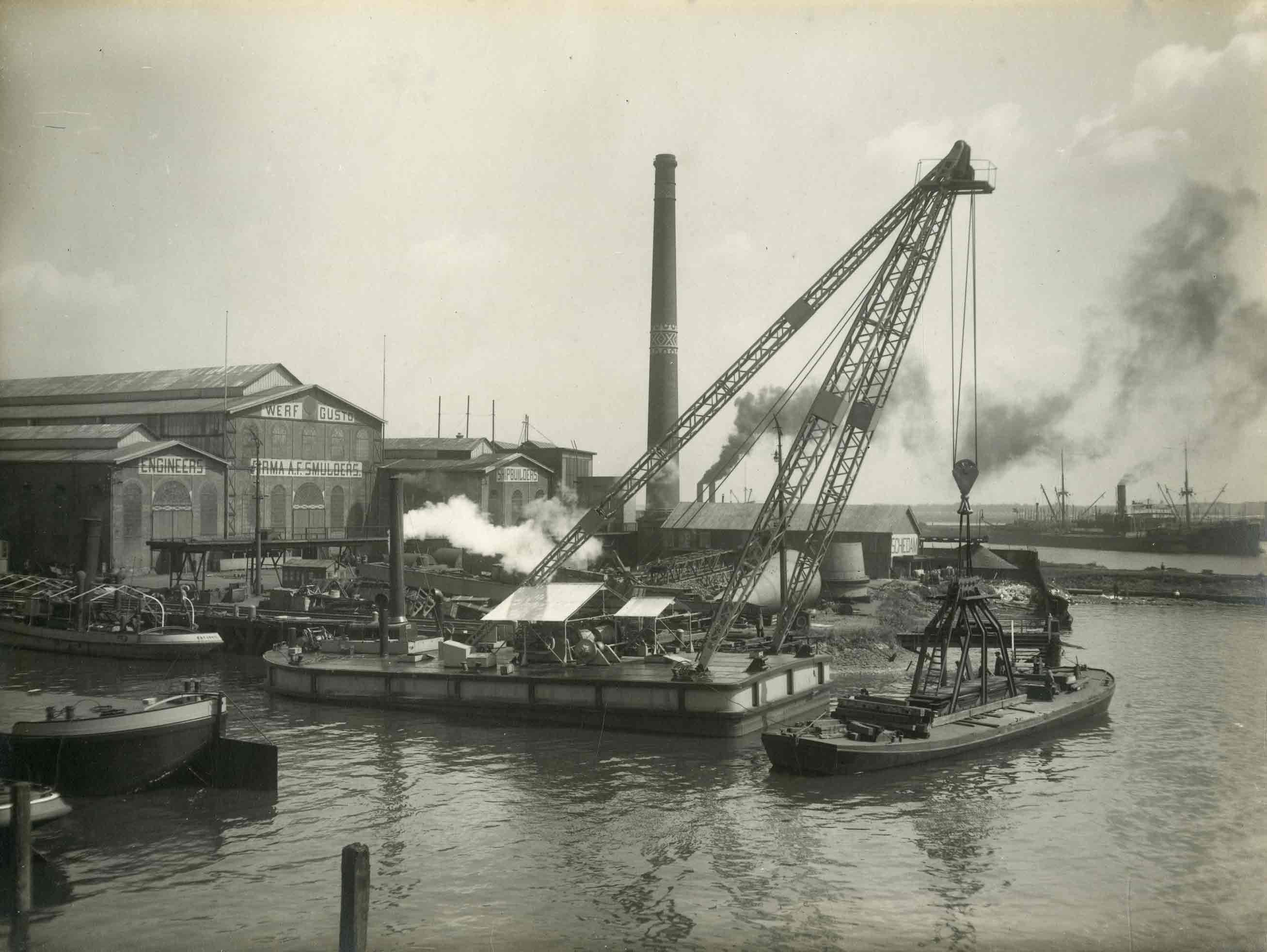 Bnr. 602: Drijvende Mastbok (1927)
