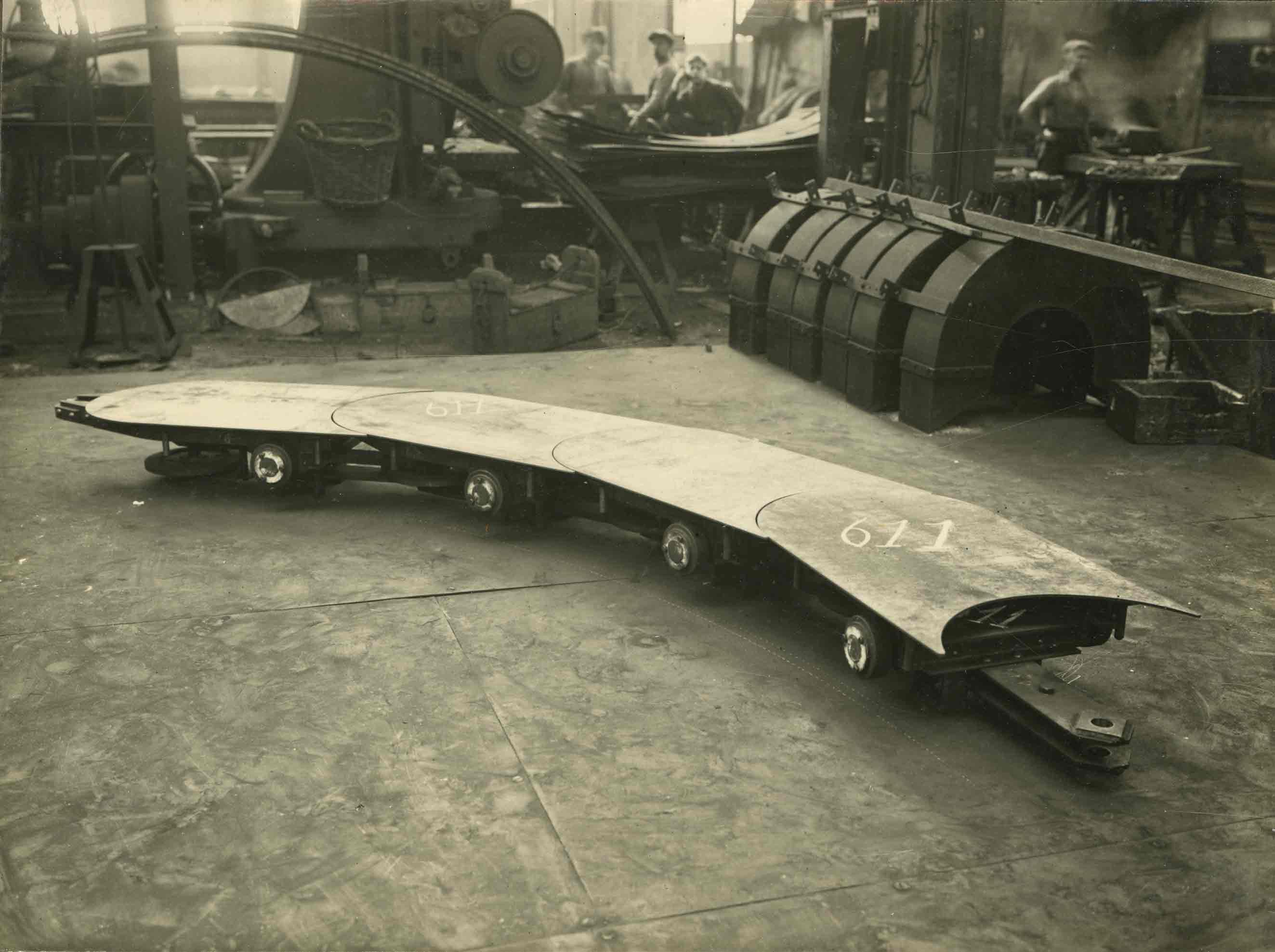 Bnr. 611: Vatentransportband (1928)