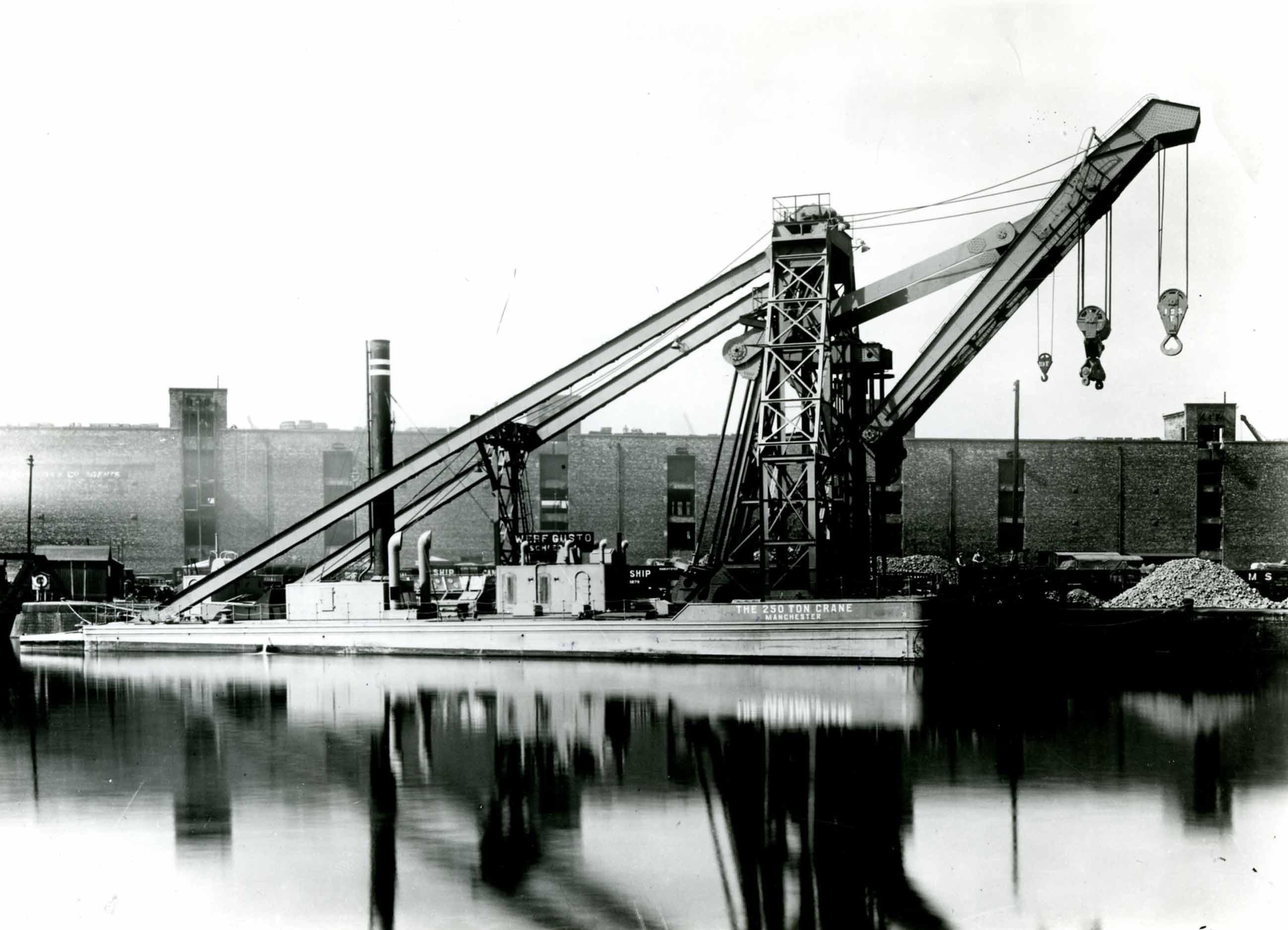 Bnr. 716: The 250 Ton Crane (1937)