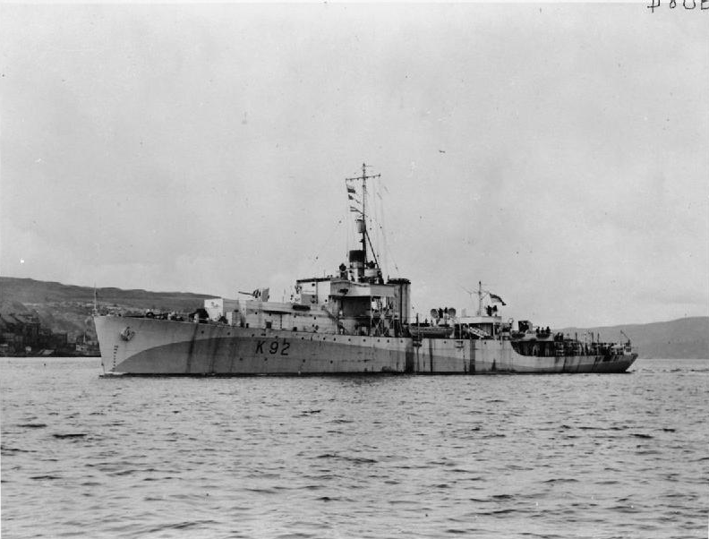 Bnr. 874: HMS Exe (1945)