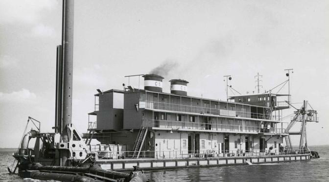 Proefvaart 'Louis Perrier' Co. 278 1955