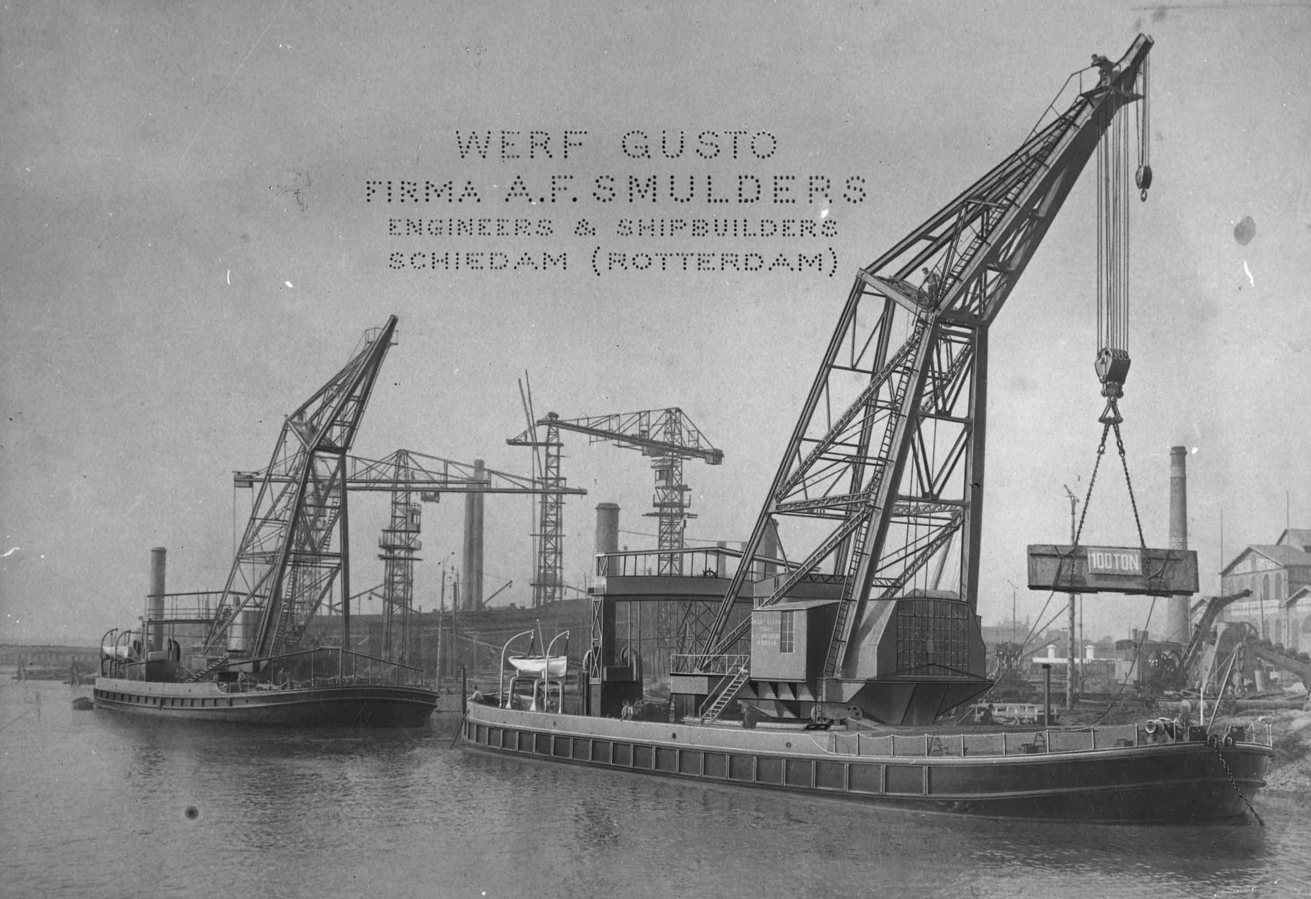 Bnr. 339-340: Puerto de la Captial I-II (1908)
