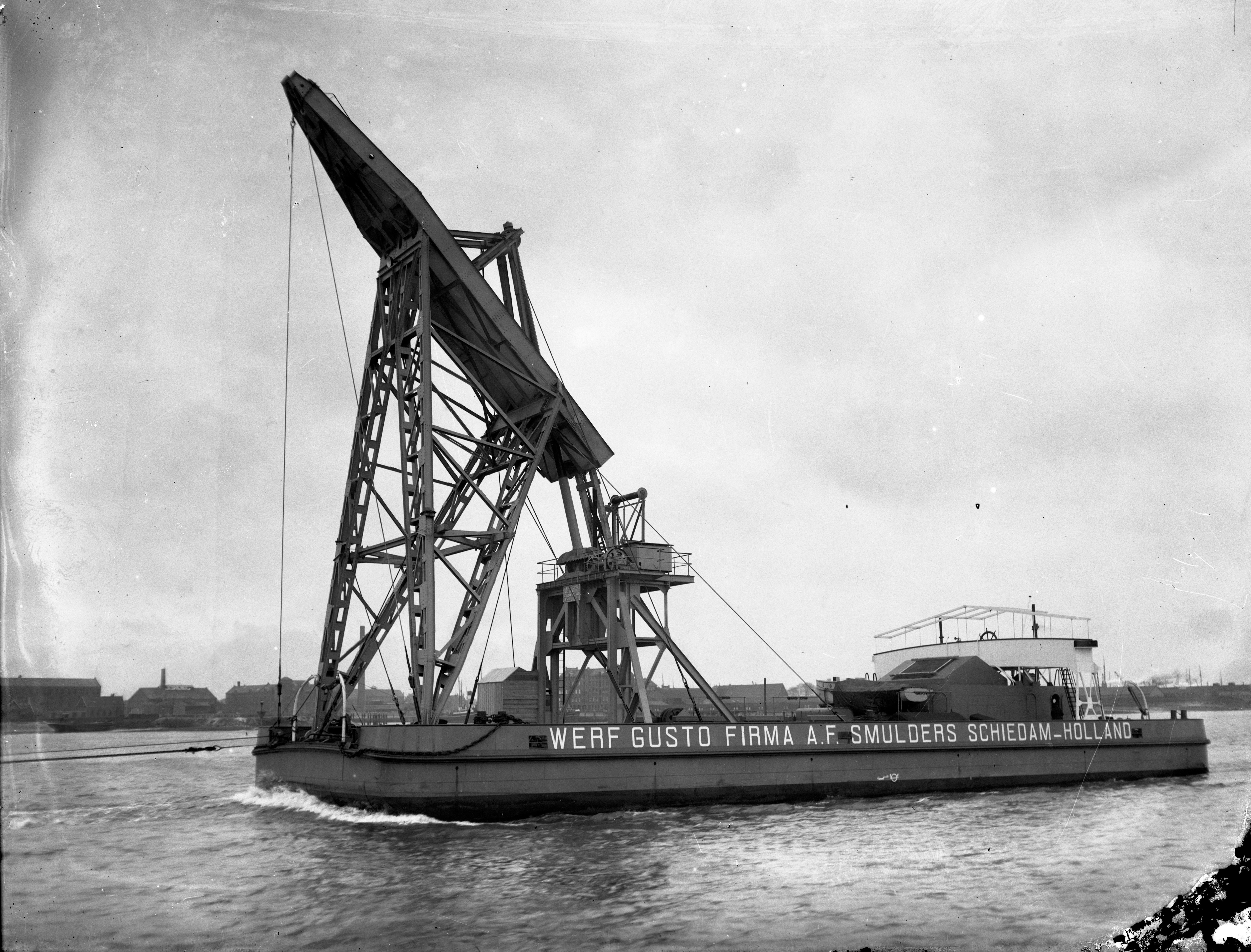 Bnr. 614: Drijvende Kraan (1929)