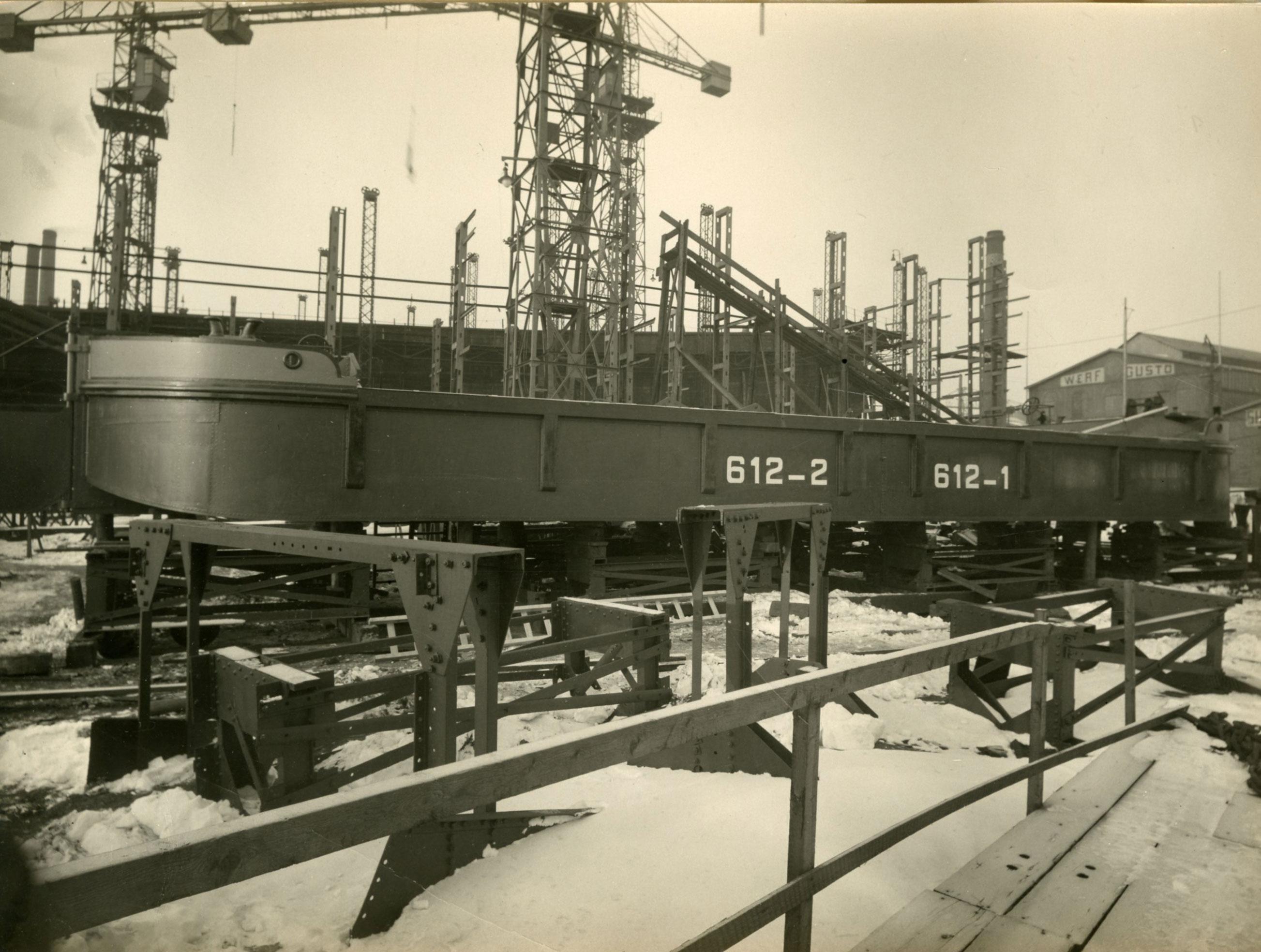 Bnr. 612 & 613: Tuimelbakken 1928