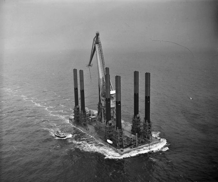 Kraaneiland 'Lepelaar' maart 1963