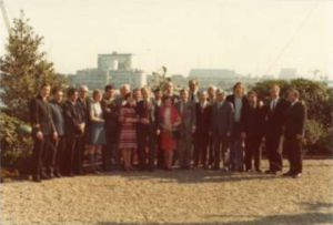 Afvaart en afscheid in 1974