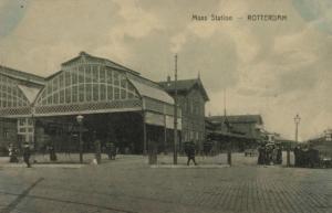 Maas Station Rotterdam 1914