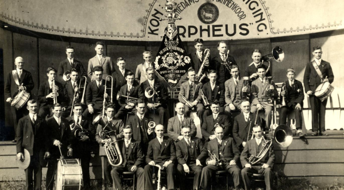 25 jaar Gusto's Muziekvereeniging ('34)