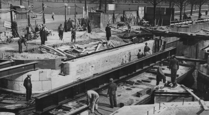 """De """"Dierentuinbrug"""" te Den Haag (1939)"""