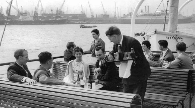 Allereerste boottocht Gepensioneerden in 1956