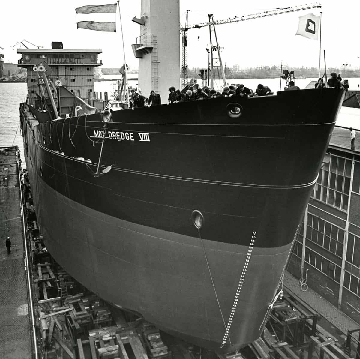 Proefvaart MOT DREDGE VIII (Co. 880)