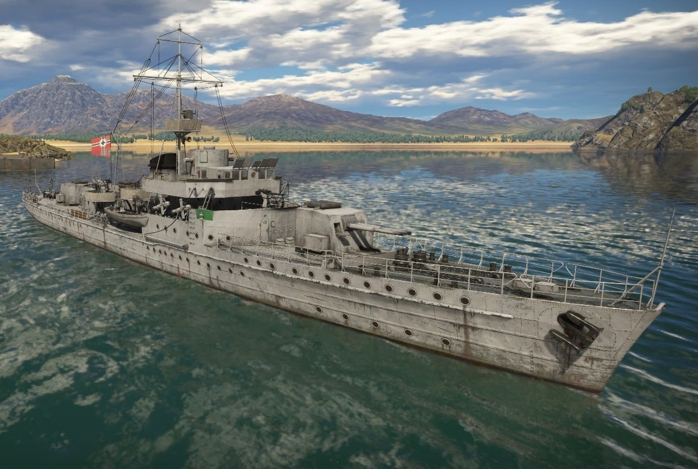 Bnr. 750: Kanonneerboot K2 1942