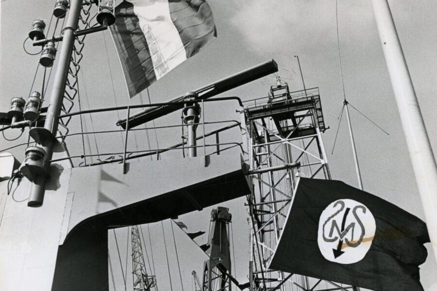 "Overdracht CO. 860 ""Pélican"" juni 1972"