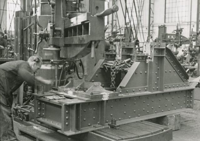 Fotoboek Fabrieksfoto's Gusto Staalbouw 1938-1940